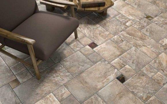 Stone Look Porcelain Floor Tiles Image collections - modern flooring ...