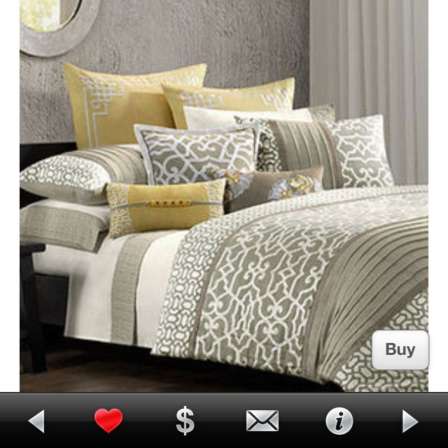 Taupe Yellow Trellis Bedding Duvet Home Bedroom Home Bedroom Makeover
