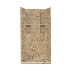 Style Selections Sand Mountain 4 Piece Alcove Shower Kit Common
