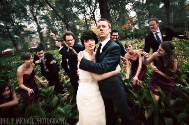 Harmony Gardens Weddings Zombie Wedding Creative Wedding Photo Wedding Parties Pictures