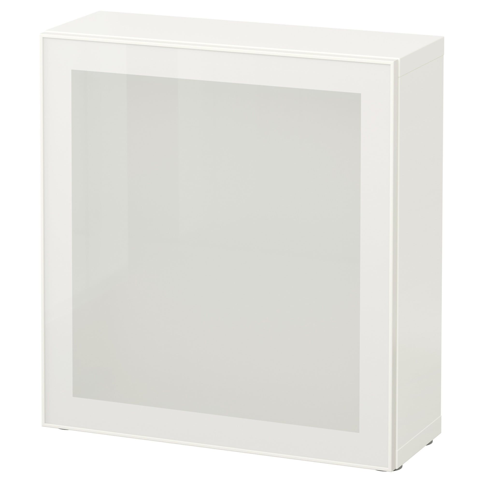 white, Glassvik frosted glass