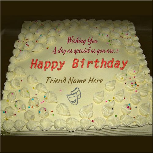 Write Your Name On Birthday Cakes For Friendsine Crate Happy