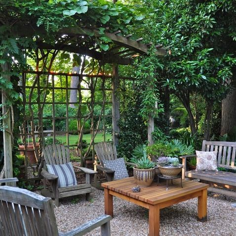 Houzz Home Design Decorating And Remodeling Ideas And Inspiration Kitchen And Bathroom Desig Backyard Patio Small Backyard Patio Green Backyard Landscaping