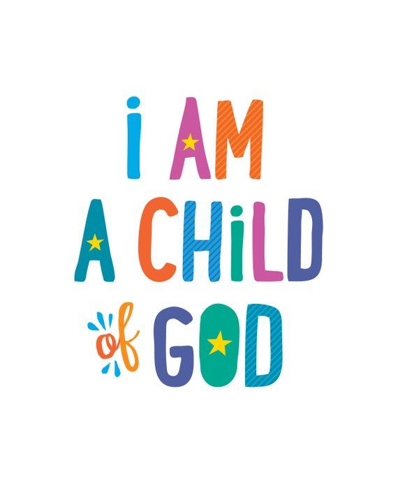 image regarding I Am a Child of God Printable known as I am a Little one of God Poster, LDS Printable, Basic 2018