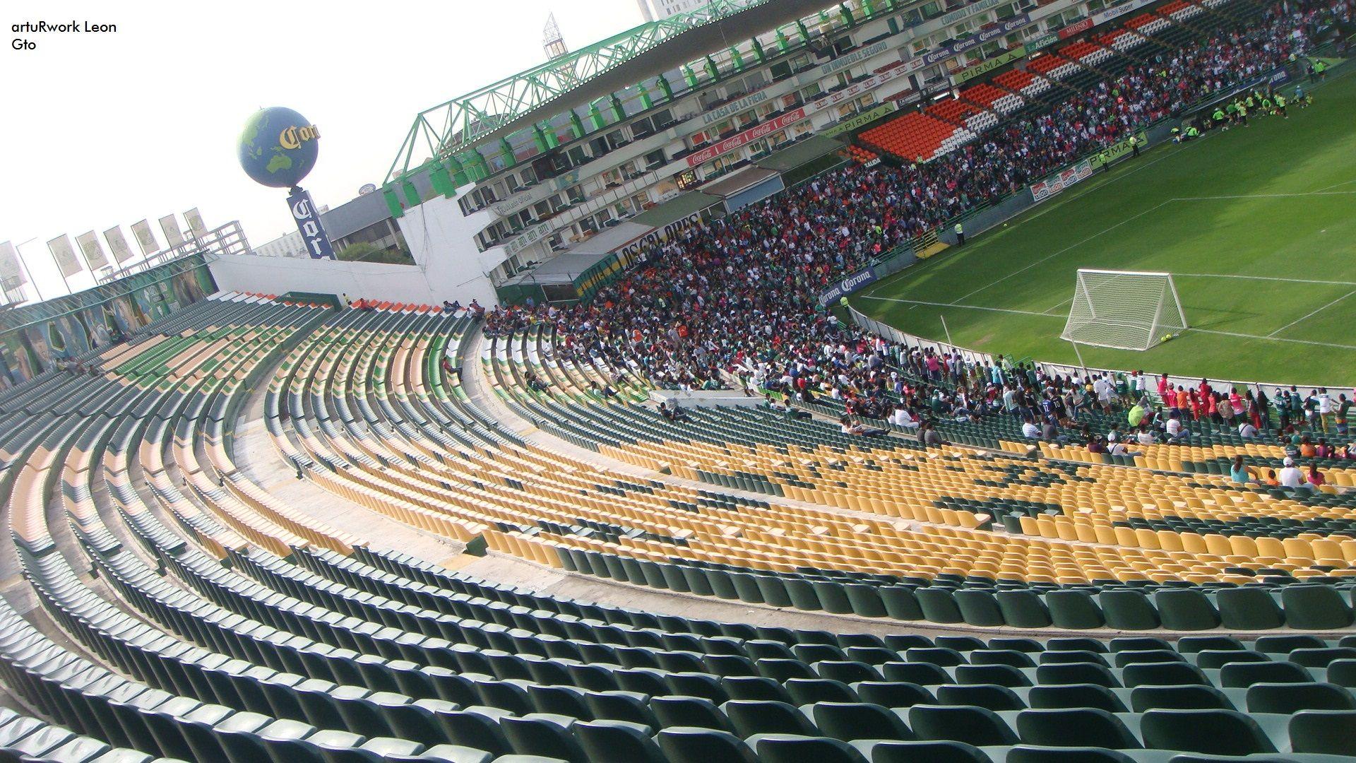 La puerta 5 del estadio leon en lo mas alto de la pasion for Puerta 20 estadio racing