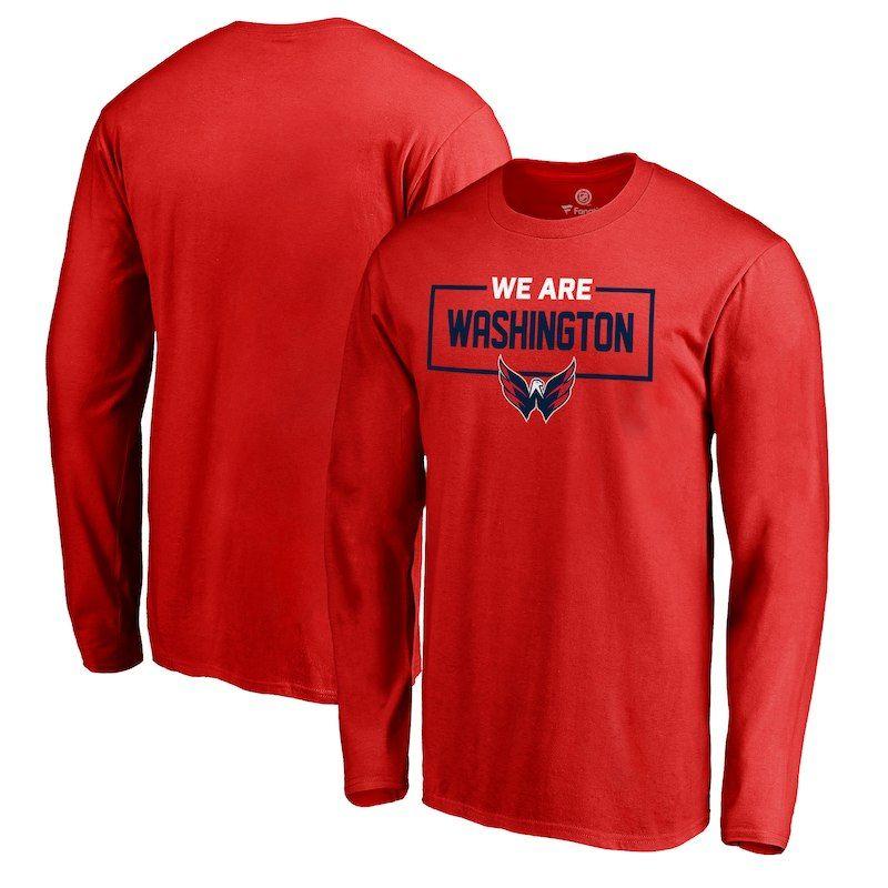 ... Pro Line by Fanatics Branded Alternate Team Logo Gear Flea Flicker Long  Sleeve T-Shirt - Neon Green. Washington Capitals Fanatics Branded Big    Tall ... 18321a782