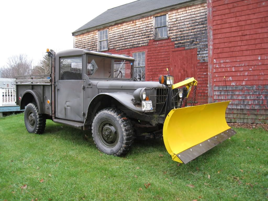 Old plow trucks - PlowSite.com™ - Snow Plowing & Ice Management ...