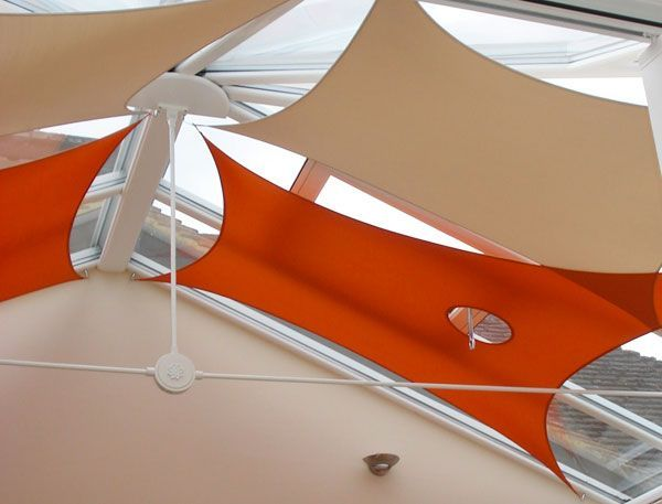 Ac4ca9f0aaf65c6f427c903e88317e3a Jpg 600 457 Pixels Shade Sail Conservatory Roof Blinds Outdoor Shade