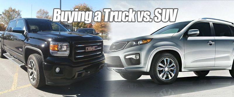 Truck Vs Suv >> Buying A Truck Vs Suv Tips Tricks Diy Automotive