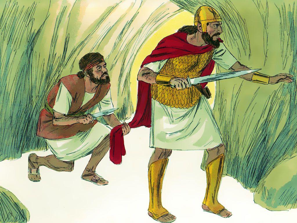Free Bible Images David Spares King Sauls Life I Samuel 221 2