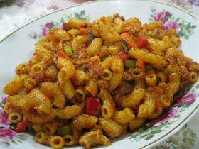 Dari Dapur Ummi Makaroni Goreng Pasta Dishes Food Macaroni