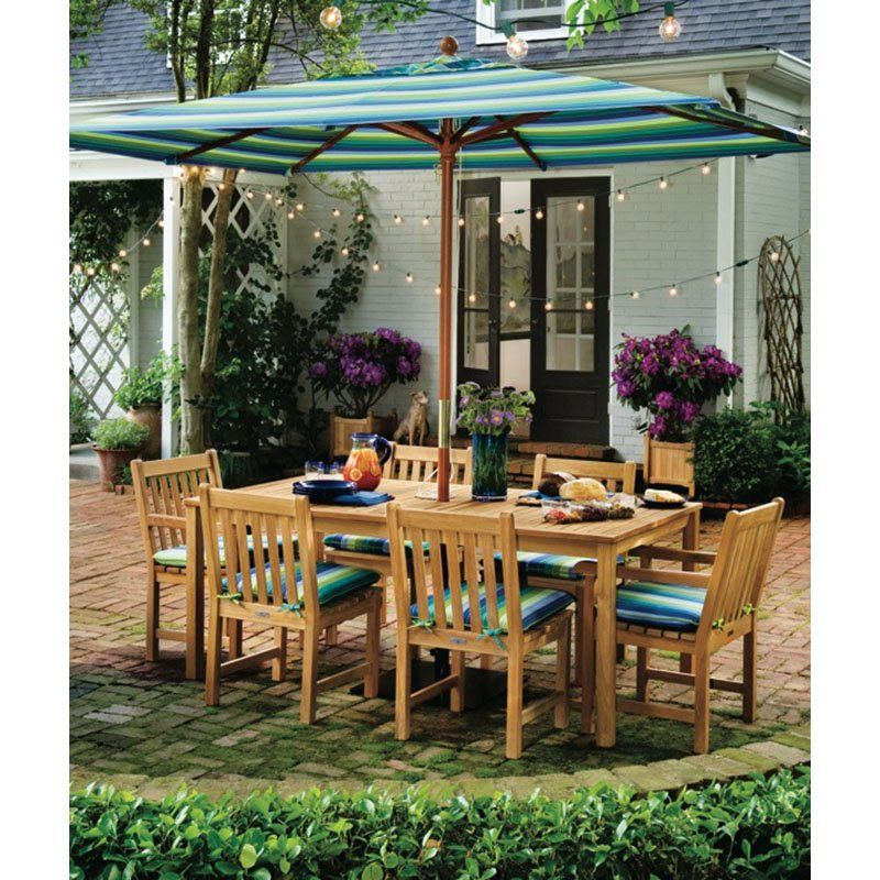 Have to have it. Oxford Garden Hampton 58 in. Patio Dining Set - Seats 6 $1379