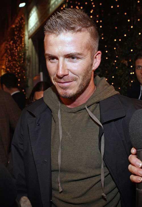 David Beckham Short Hair Men Hairstyles Modern Man - What hairstyle does david beckham have