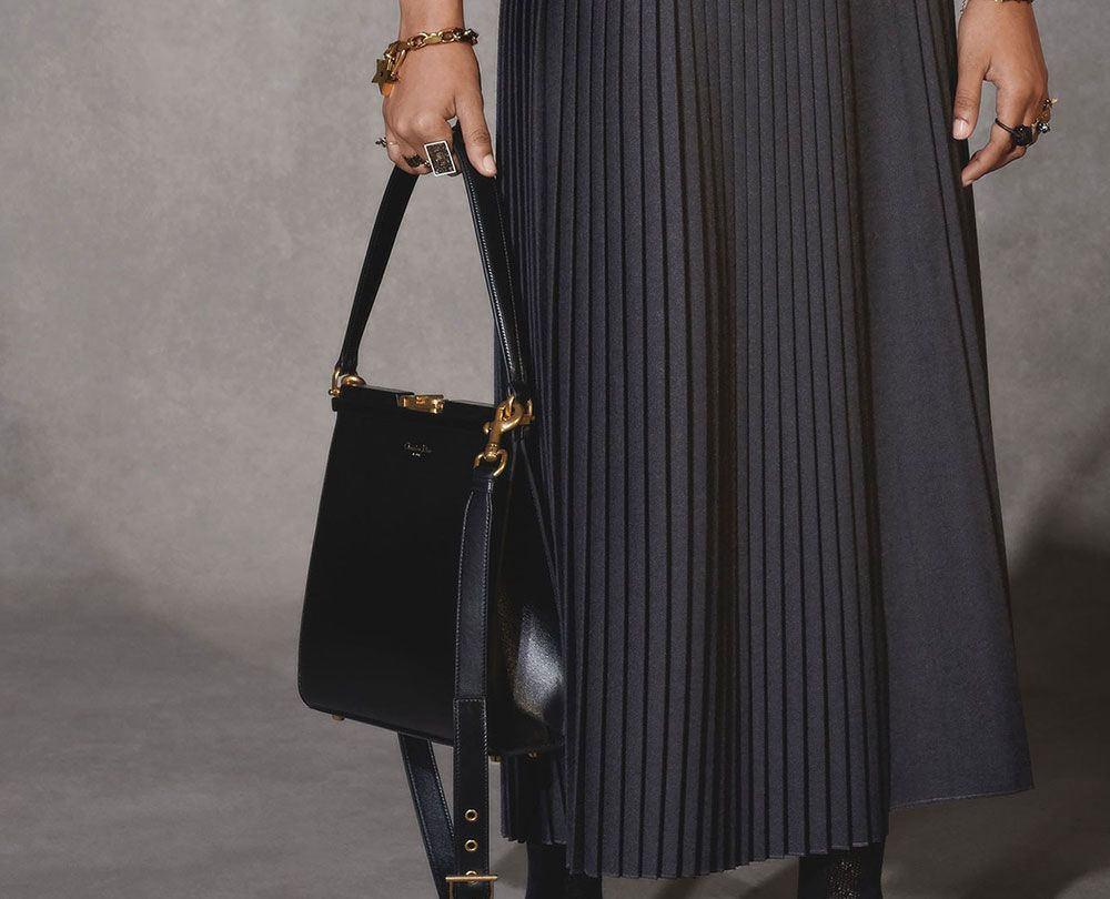 1f0ab0c3494a Dior Settles Down and Gets Sophisticated With Its Pre-Fall 2018 Bags -  PurseBlog