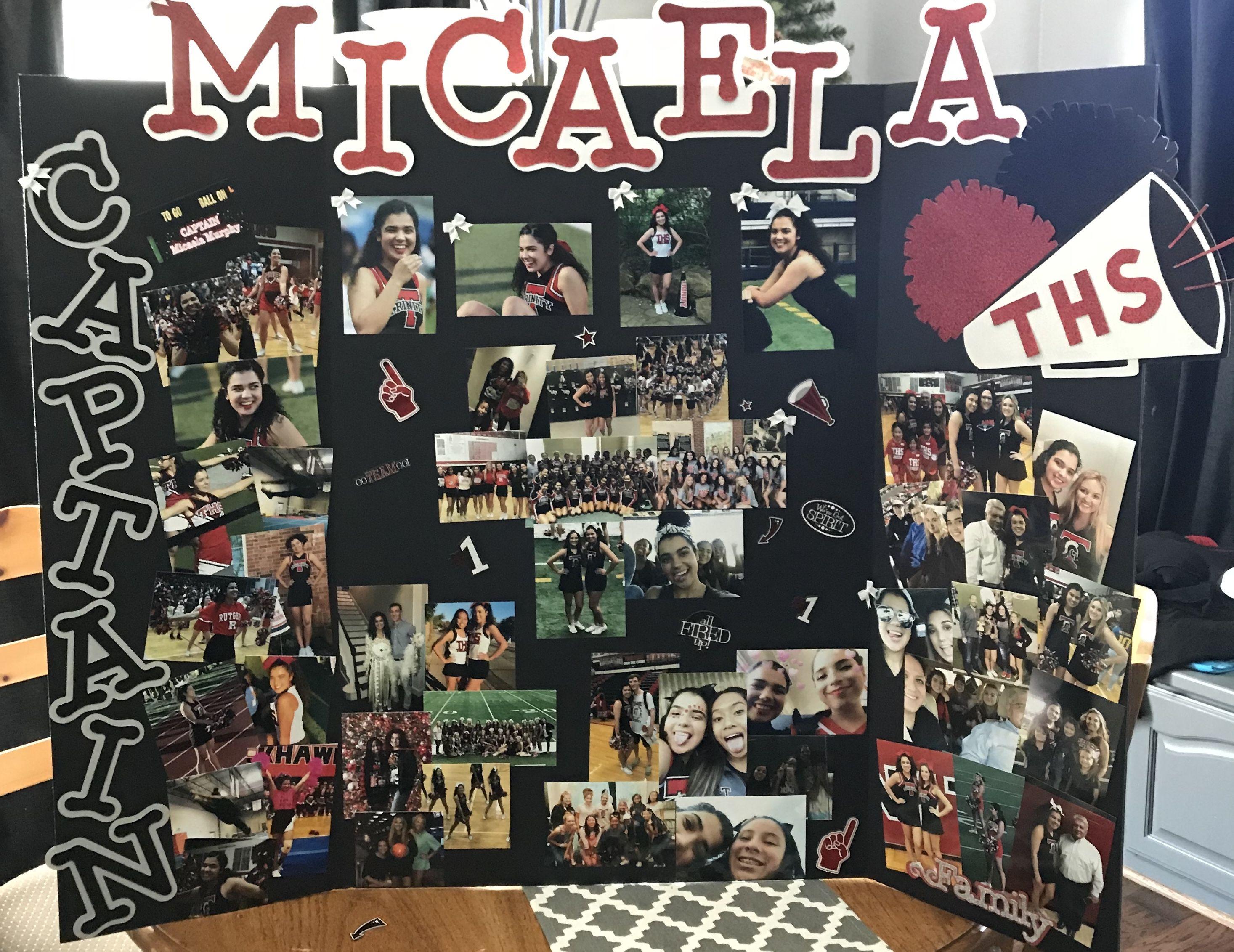 Senior Cheer Board Ideas Senior Night Posters Senior Night Cheer Posters