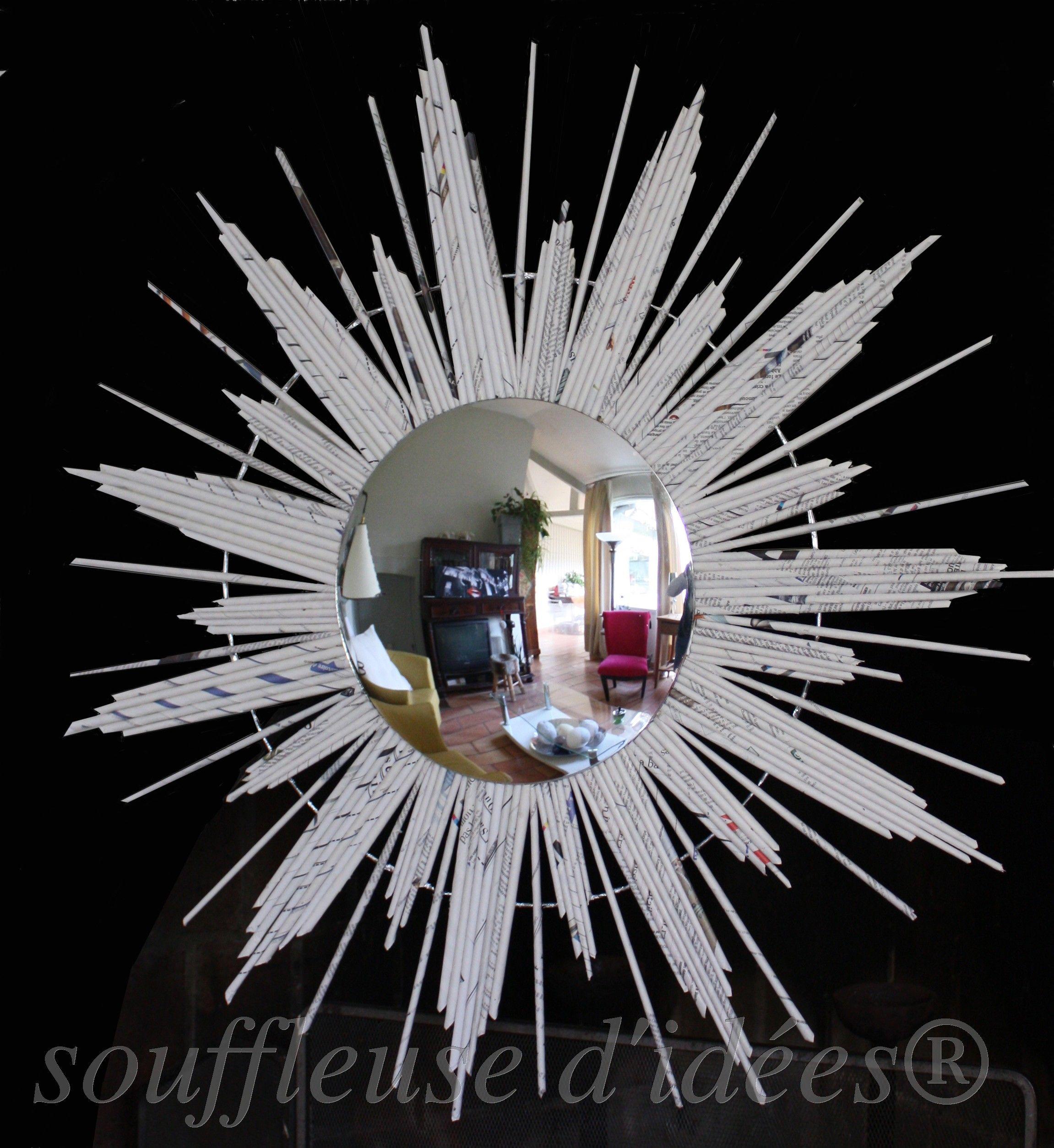 miroir oeil de sorciere creations souffleuse d 39 id es pinterest. Black Bedroom Furniture Sets. Home Design Ideas