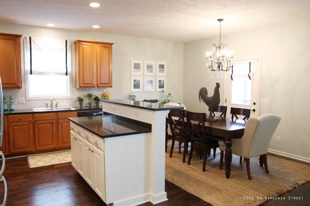 Desain Ruang Makan Dan Dapur Jadi Satu Sweet Home Pinterest