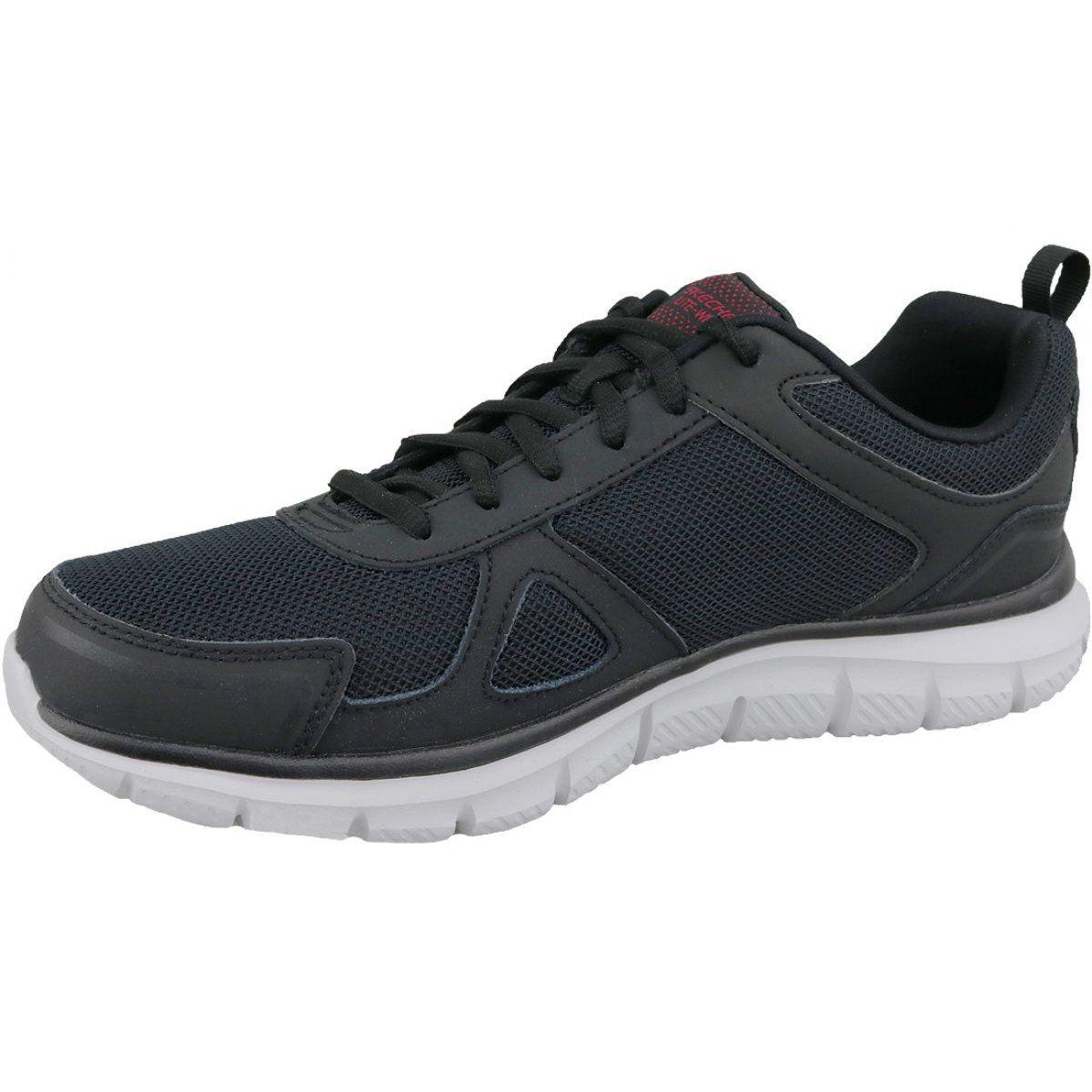 Buty Skechers Track Scloric M 52631 Bkrd Czarne Zolte Skechers Shoes Skechers Shoes