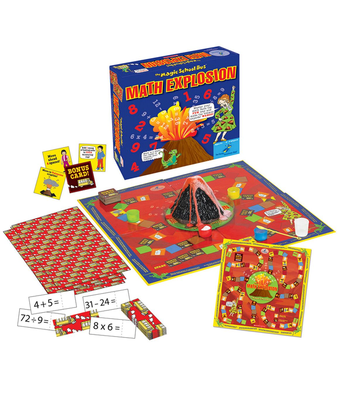 The Magic School Bus Math Explosion Game In