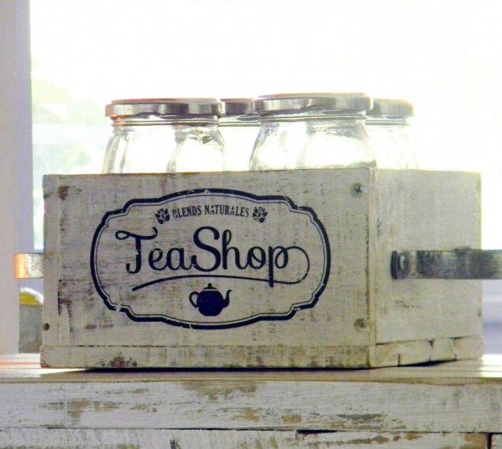 Encontrá cajón vintage para organizar hebras de té desde 300 ...