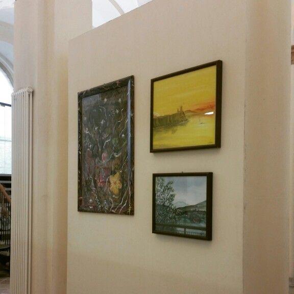 """Inaugurazione """"Contemporaneamente"""" #art #surrealismo #pittura #simonebandiniart #pittura #cultura #italy #giappone #tokyo"""