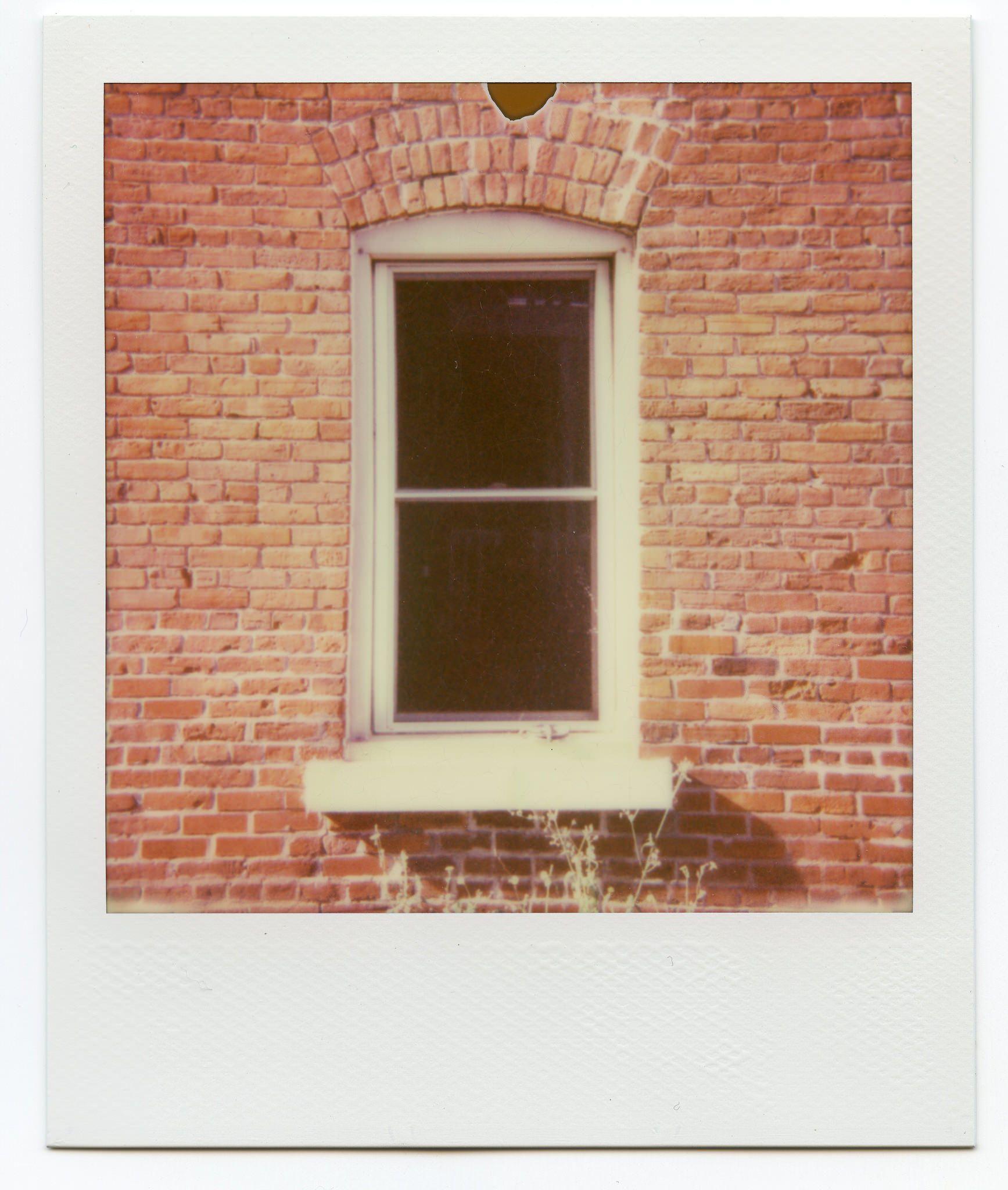 Abandoned 1930s Building Shot With Polaroid Originals Film