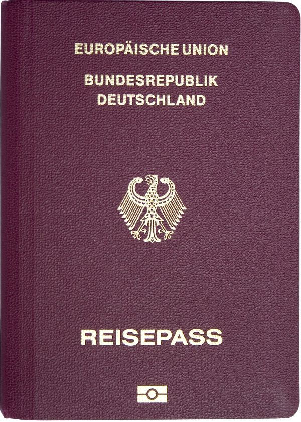 004 Passport of Germany Passport, Passport online, Germany