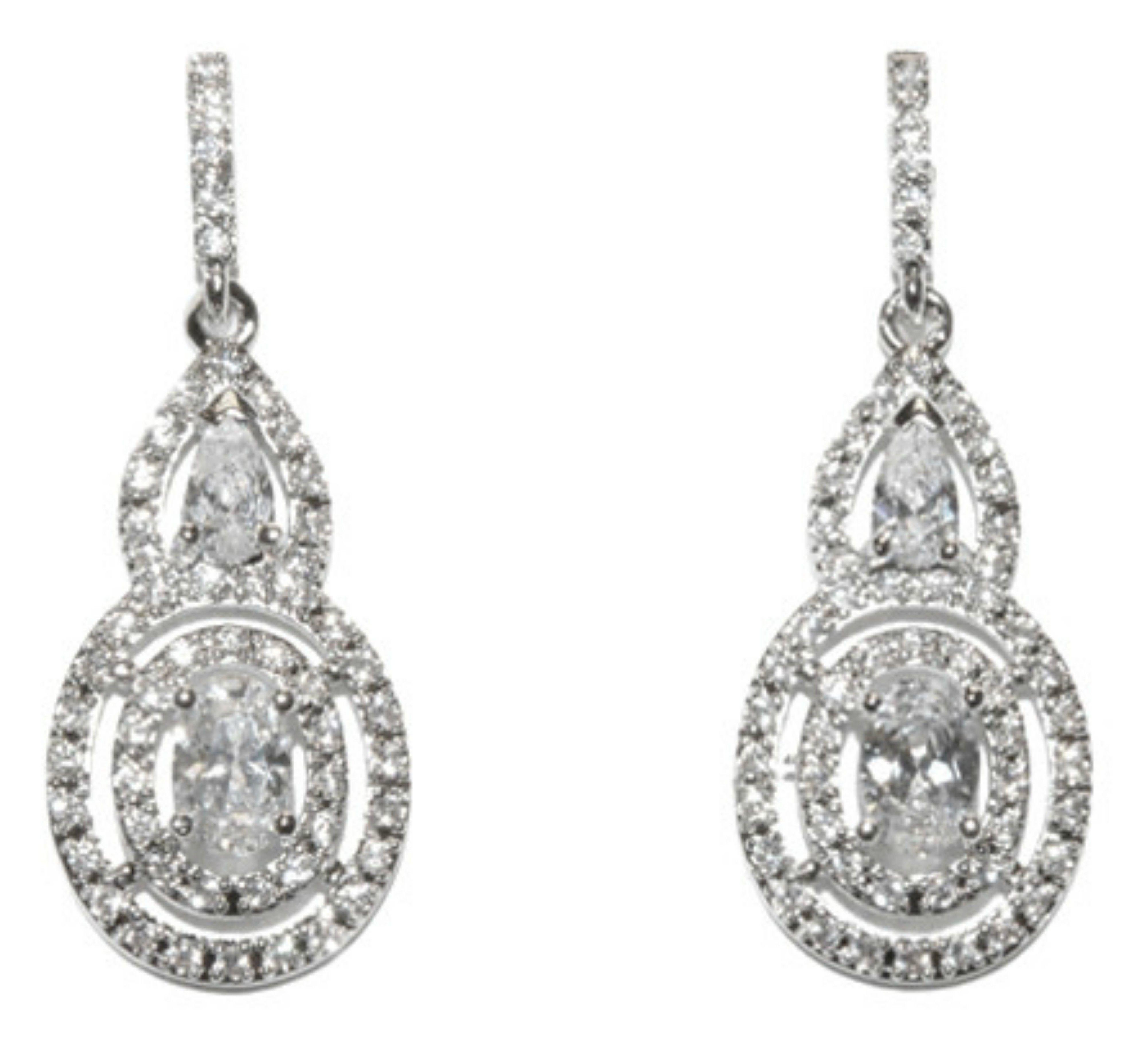 Miaka oval halo dangle chandelier earrings cubic zirconia miaka oval halo dangle chandelier earrings cubic zirconia arubaitofo Choice Image