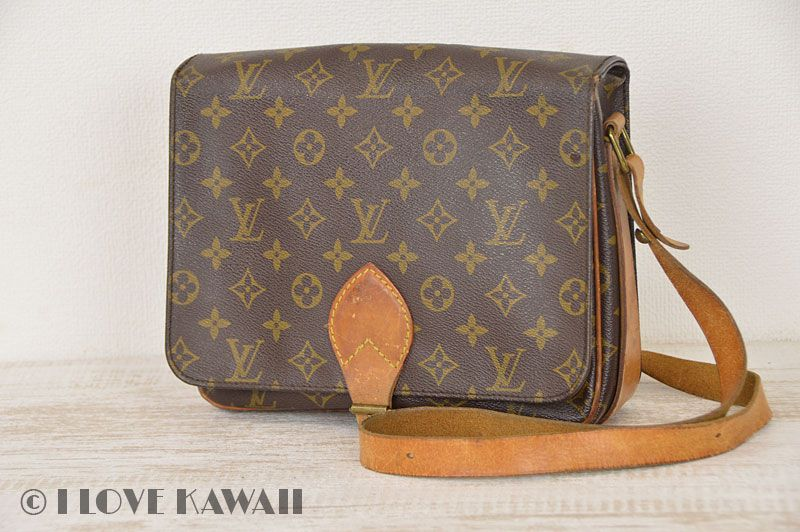 Louis Vuitton Monogram Cartouchiere GM Shoulder Bag M51252