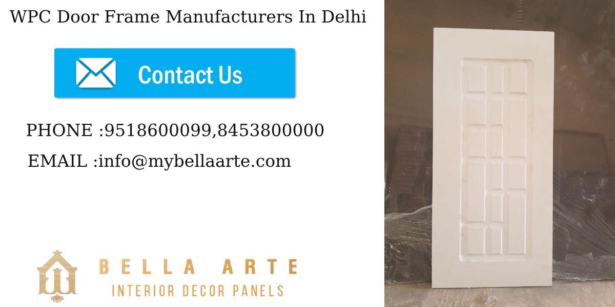 Being One Of The Leading Wpcdoorframemanufacturersindelhi Ilus Designs Pvt Ltd Has Always Focussed On Creativity And Innovative Solid Doors Door Frame Frame