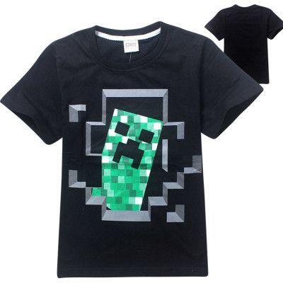 Fille Minecraft Tshirt