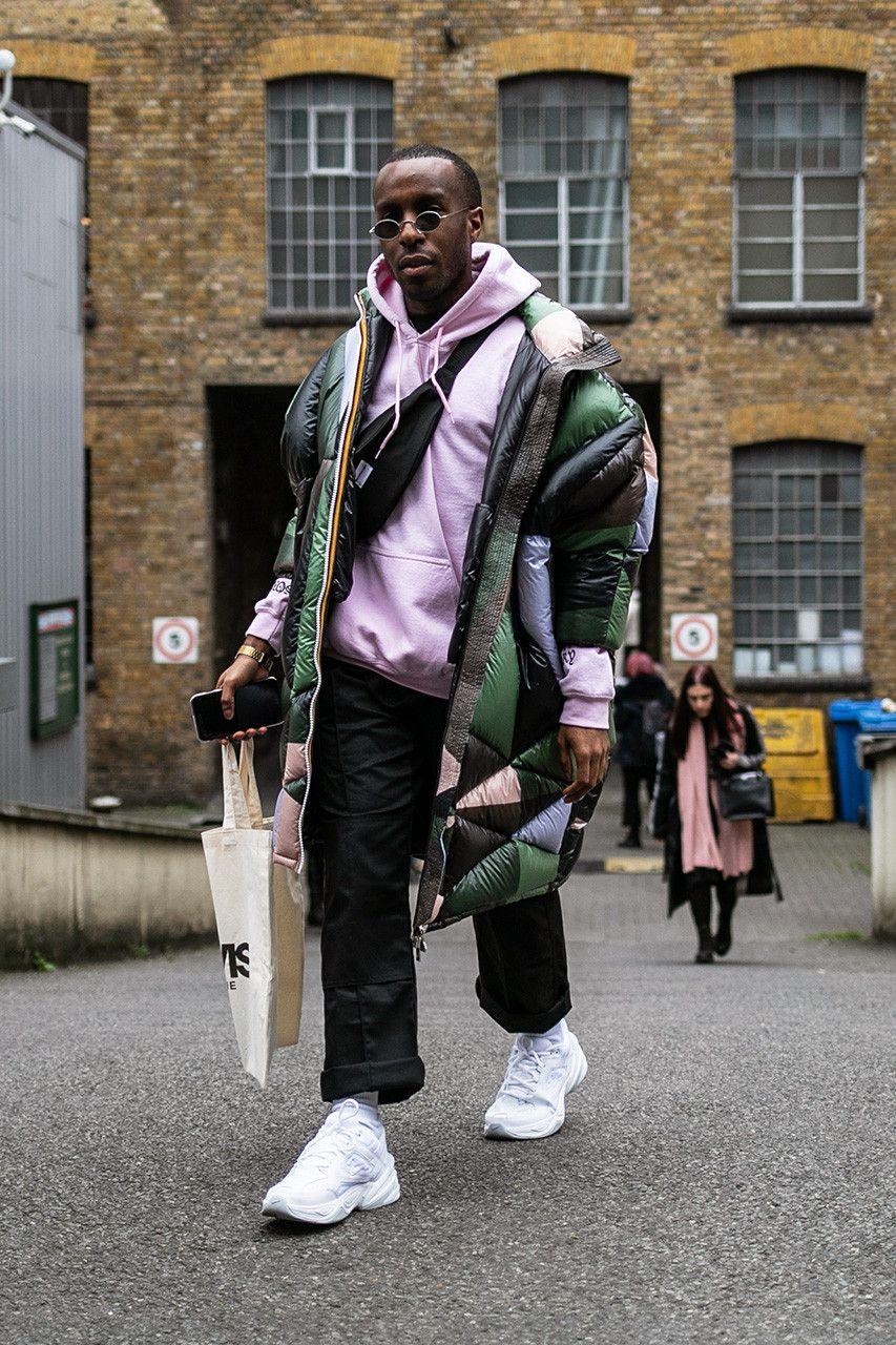 1019560e8600 London fashion week men s lfwm street style snaps best of photography  dressed prada raf simons martine rose nike a-cold-wall burberry fendi