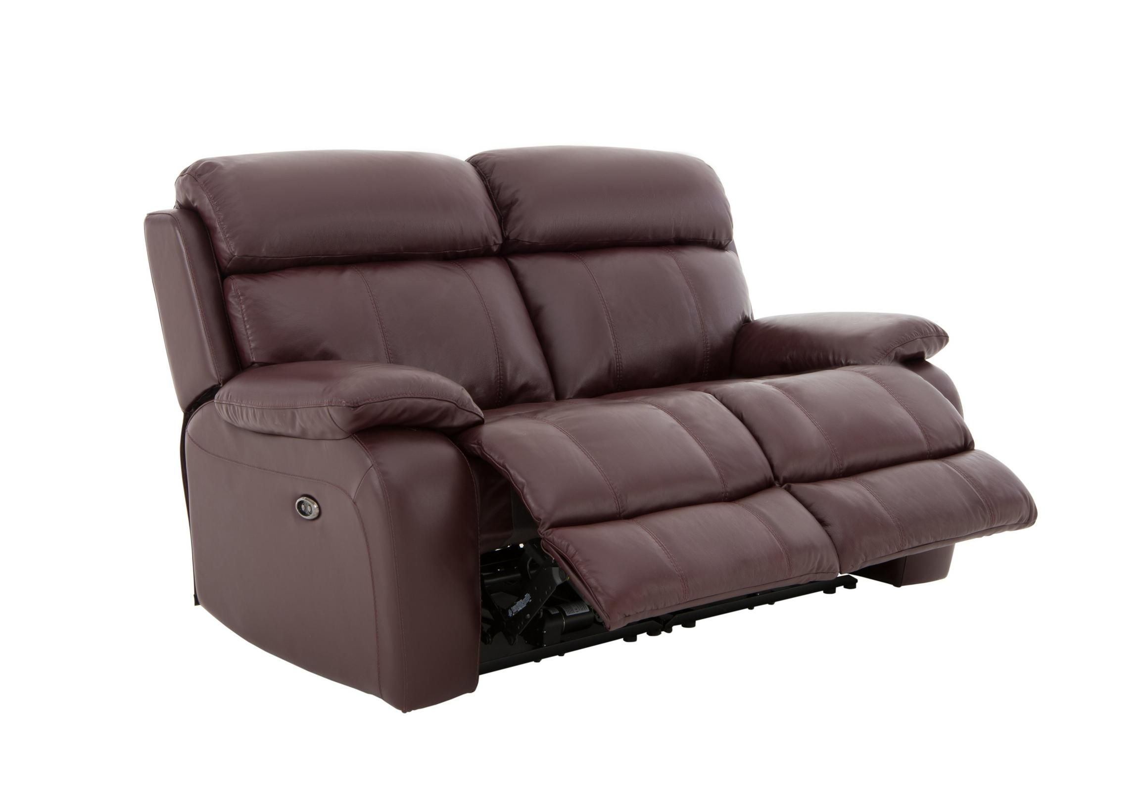 Moreno 2 Seater Leather Recliner Sofa | Decoration | Leather ...