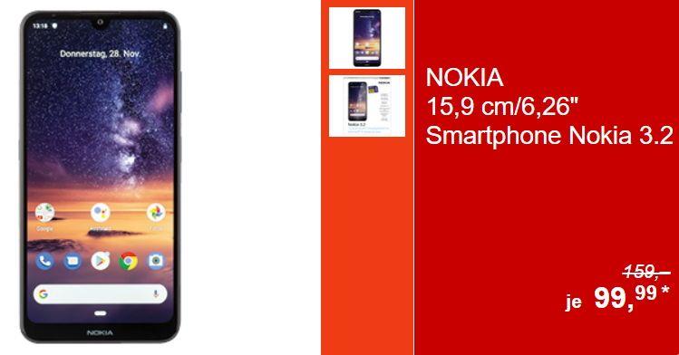 Ab Kommenden Donnerstag Den 28 11 Gibt Es Bei Aldi Sud Das Nokia 3 2 Smartphone Mit Android 9 Fur Unter 100 Euro Zu Kaufen Smartphone Mobilfunk Aldi