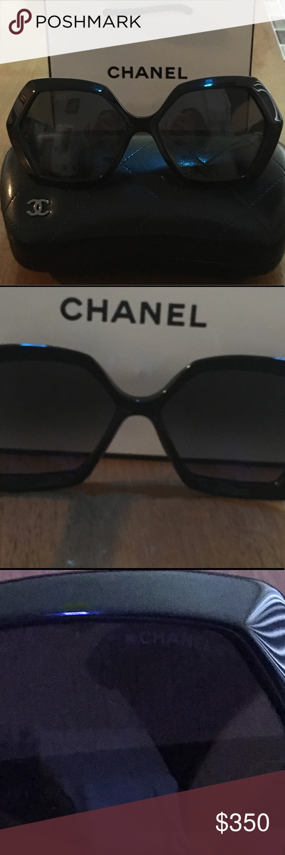 115ef0d4eeb1 Spotted while shopping on Poshmark  New CHANEL square eyeglasses!  poshmark   fashion  shopping  style  CHANEL  Accessories