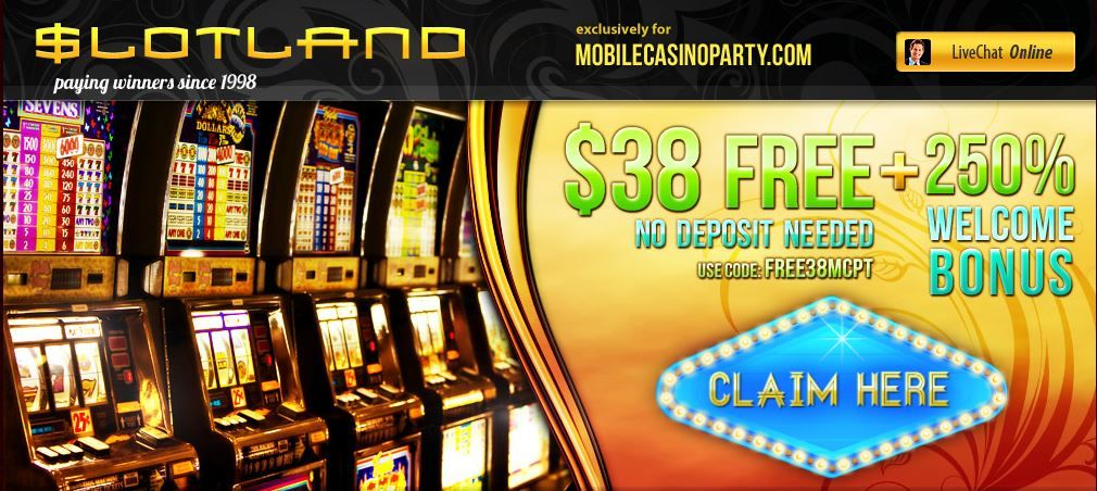 Slotland Online Casino Review Real Money Casino Slots