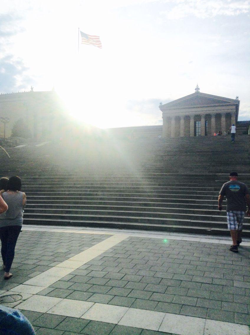 East Coast · The Rocky Balboa Stairs!