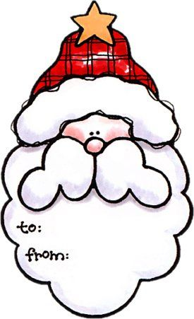 15+ Cute Christmas Gifts Clipart With Tag