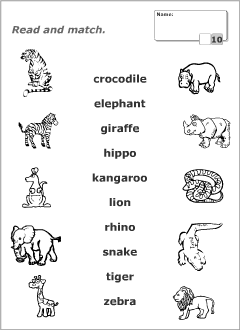 learning about animals for kids worksheets animal worksheets english. Black Bedroom Furniture Sets. Home Design Ideas