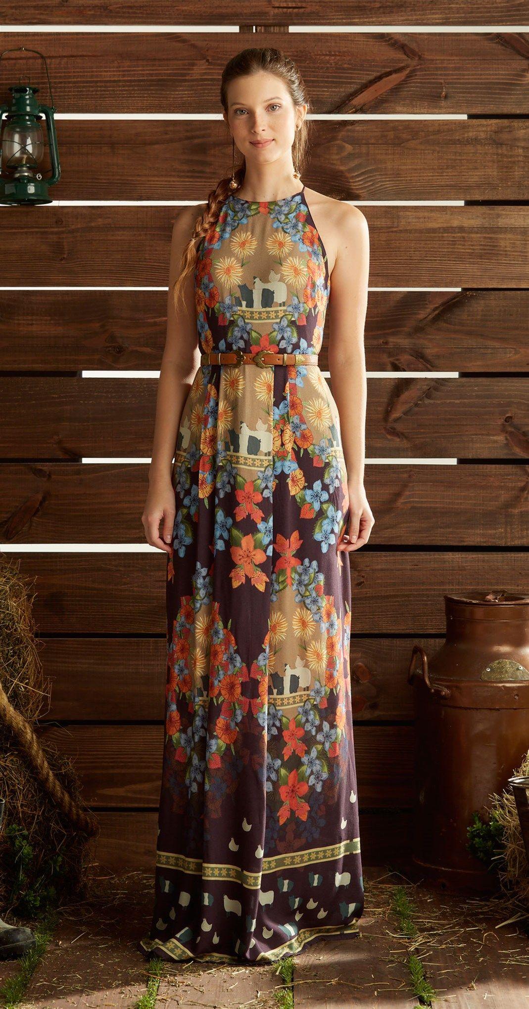 3aed274ee Só na Antix Store você encontra Vestido Flor do Interior com exclusividade  na internet