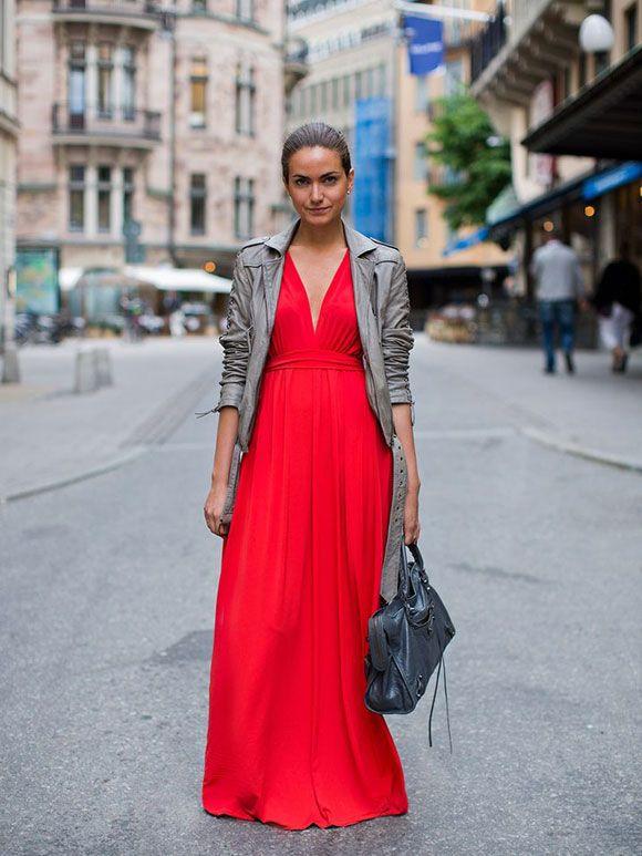 grote verscheidenheid aan modellen uiterst stijlvol herfst schoenen Fashion Fix: lange rode jurk | Rode jurken en schoenen ...