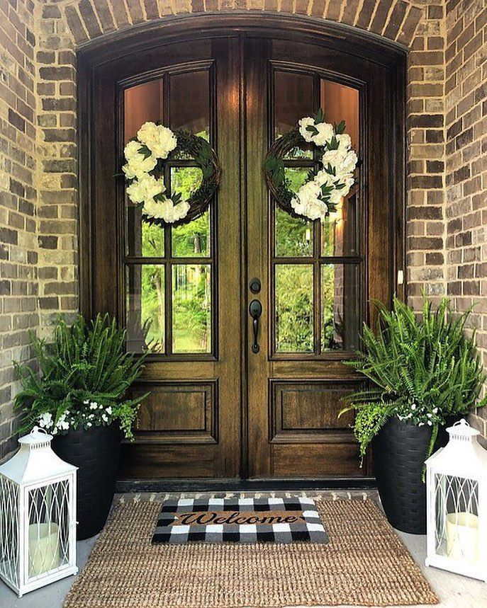 "Kirkland's on Instagram: ""This front porch is so... - #Front #Instagram #Kirklands #Porch #porches #fallfrontporchdecor"
