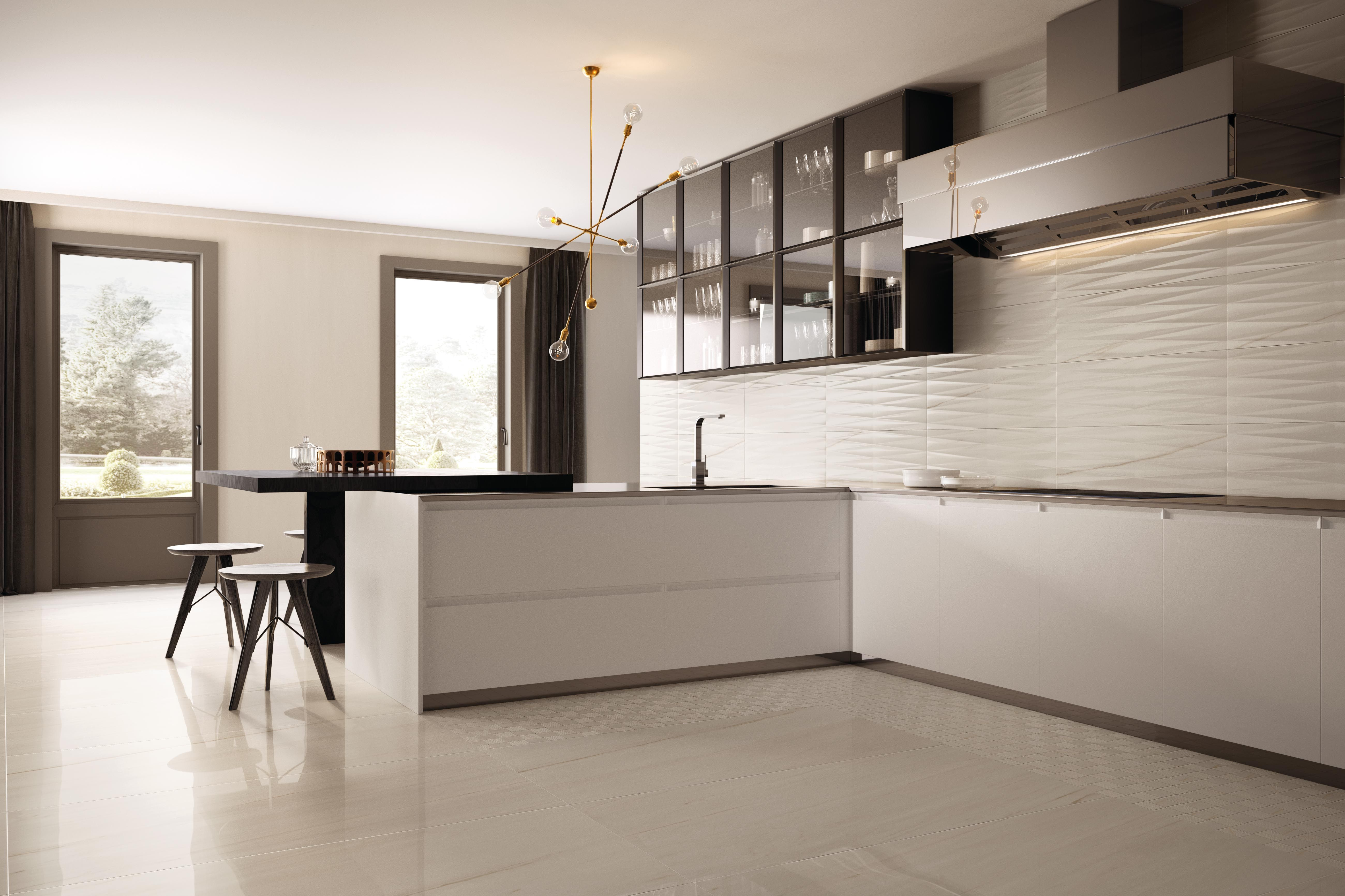 Effettomarmo Marble Gres Cucina Lasa Purity Of