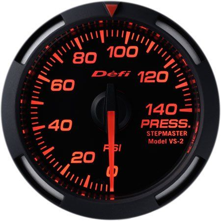 Defi 52mm Racer Series Gauges (Water or Oil Temperature ... Oil Pressure Gauge Wiring Diagram Color on