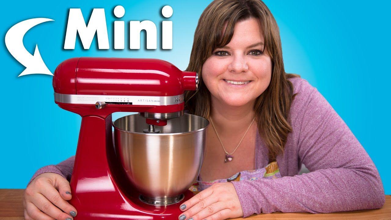 Kitchenaid artisan mini mixer review youtube