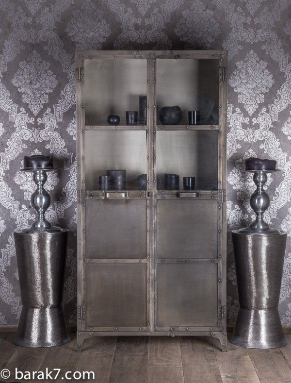 "Industrial Furniture - Industrial dresser ""Cloudy"" | BARAK'7"