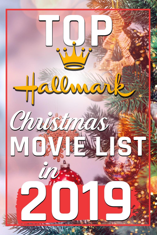 All Top Hallmark Christmas Movie list in 2019 Hallmark