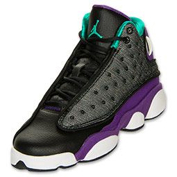 wholesale dealer 31c4e e17fe ... order girls gradeschool air jordan retro 13 black teal violet white  114.99 55734 98ab0