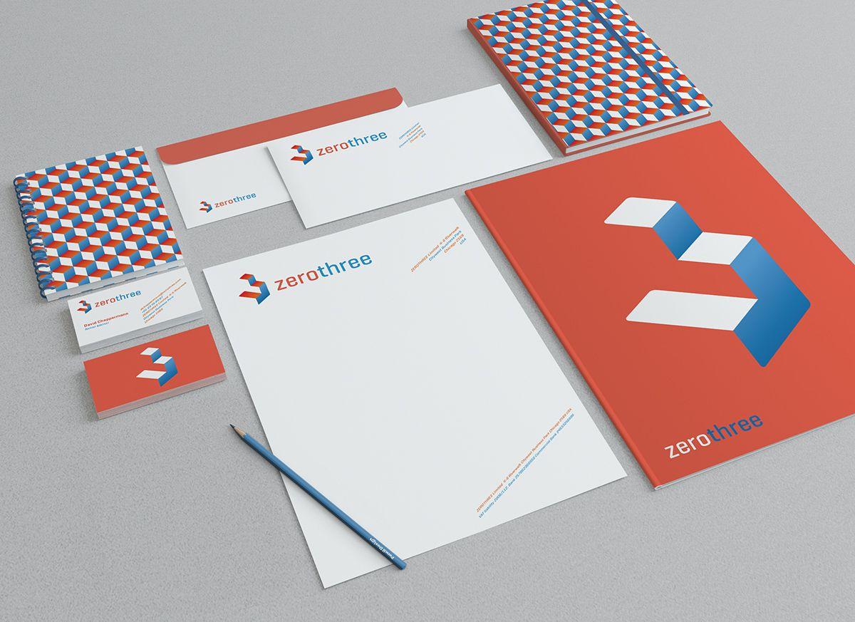 briefpapier-ontwerp-zerothree   Bochane   Pinterest   Logos