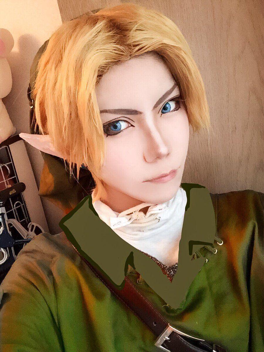 Mini Cosplay by 響次 池ハロ②無神ユーマ (kyozikz333) Link cosplay